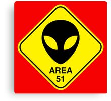 Area 51 Canvas Print