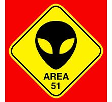 Area 51 Photographic Print