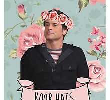 "Chris Traeger ""Boob Hats"" phone case by rhicola"