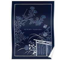 The flowers of Japan and the art of floral arrangement Josiah Conder 1892 0053 Autumn Flowers Inverted Poster