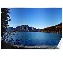 Blue Lake Poster