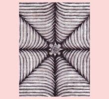 Spider Web  One Piece - Short Sleeve