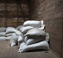 Bags of Coffee Beans by Stephen  Dennstedt