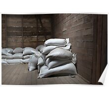 Bags of Coffee Beans Poster