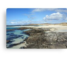 Sanna Bay Beach on the Arnamurchan Penninsula. Metal Print