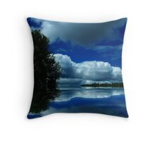 """""""Touch of Red"""" Throw Pillow"""