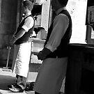 Waiting I by Virginia Kelser Jones