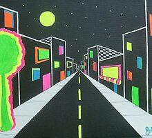 Neon Nights by JoNeL-Art