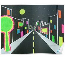 Neon Nights Poster