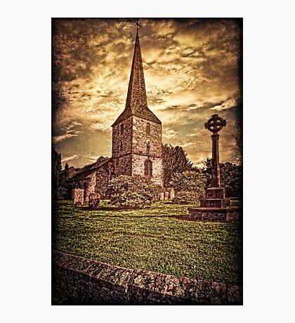 An English Village Church Photographic Print