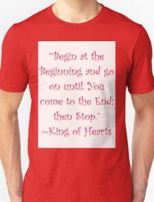 Begin At The Beginning T-Shirt