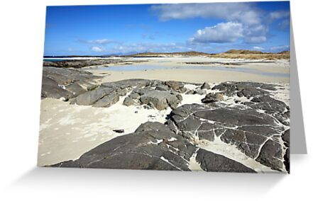 Sanna Bay on the Atdnamurchan Penninsula. by John Cameron