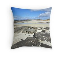 Sanna Bay on the Atdnamurchan Penninsula. Throw Pillow