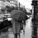Just Another Rainy Day in Paris by Virginia Kelser Jones