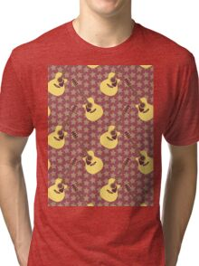 Stars and guitars Tri-blend T-Shirt