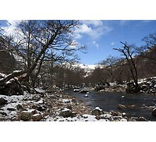 River Nevis in Winter. Photographic Print