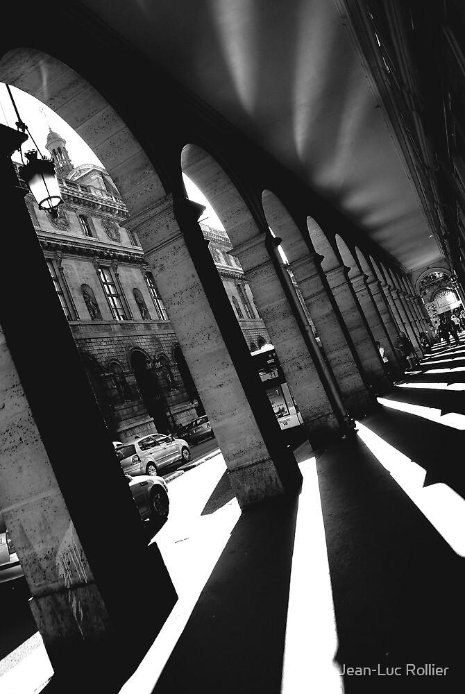 Paris, Rivoli street arches. by Jean-Luc Rollier