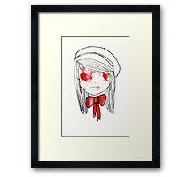 blooded Framed Print