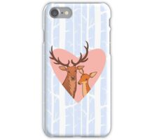 I Love You My Deer iPhone Case/Skin