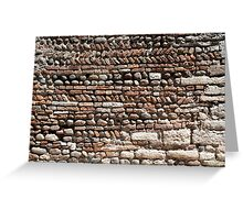 Off the wall  Greeting Card