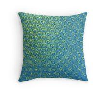Mermaid Scales Throw Pillow
