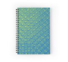 Mermaid Scales Spiral Notebook