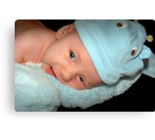 Baby Connor Canvas Print