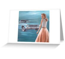 Adventure! Feat. 71 Holden Kingswood Greeting Card