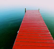Red Dock by Lynn Armstrong