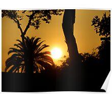 LA Sun Poster
