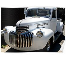 1946 old chevy truck -front full Poster