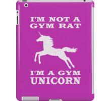 I'm Not A Gym Rat I'm A Gym Unicorn iPad Case/Skin