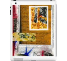 Journal pages-Spells iPad Case/Skin