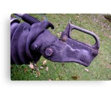 Rhino, Needs Friends - trailer hitch Canvas Print
