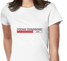 vodka download Womens Fitted T-Shirt