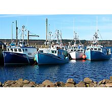 Tiverton Fleet Photographic Print