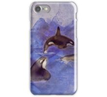 Glacier Whales iPhone Case/Skin