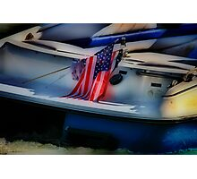 Fourth of July on the River Photographic Print