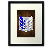 Cutest Recon Corps Logo Framed Print