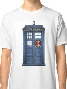 Police Box Union Jack Classic T-Shirt