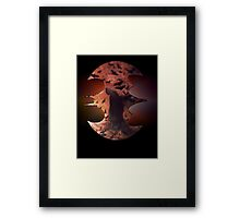 ©AeroArt Dark Night II Framed Print