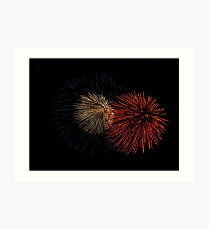 Red, White and Blue Art Print