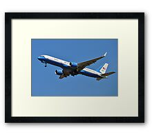 Air Force Two Framed Print