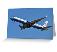 Air Force Two Greeting Card