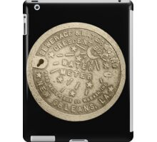 Nawlins Water Meter iPad Case/Skin