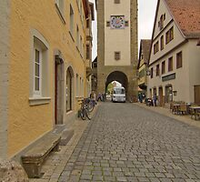 Rothenburg ob der Tauber 6 by Priscilla Turner