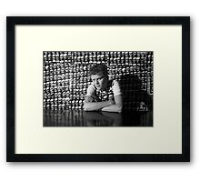 Tom Ellard at Art Unit 1983 Framed Print
