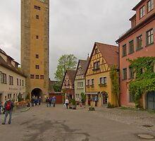 Rothenburg ob der Tauber 32 by Priscilla Turner