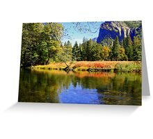 """""""Valley Reflections"""" Greeting Card"""