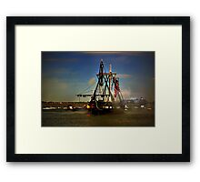 Independence Day Celebration with USS Constitution  Framed Print